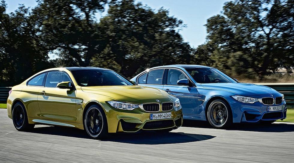 BMW M3 och M4