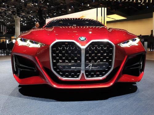 Den del av konceptbilen Concept 4 som blev mest omdiskuterad.