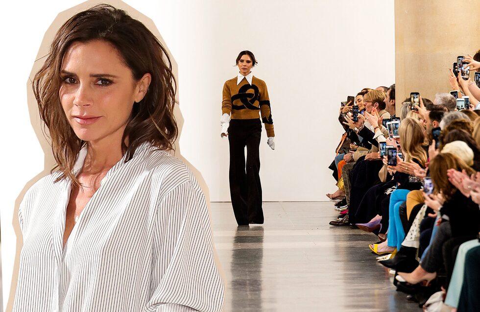 Det första riktigt dyra modeköpet Victoria Beckham unnade sig efter den första Spice Girls-checken var ett par vita slingbackskor från Patrick Cox.