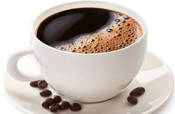 Kaffe bra för tänderna
