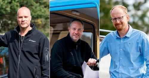 Mattias Johansson drömde om Saab Turbo redan som tonåring. Jimi Essén kommer ständigt på nya idéer för kommande Tjorven-projekt. Per Helgessons Volvo har varit honom trogen i snart 30 år och 37 000 mil.