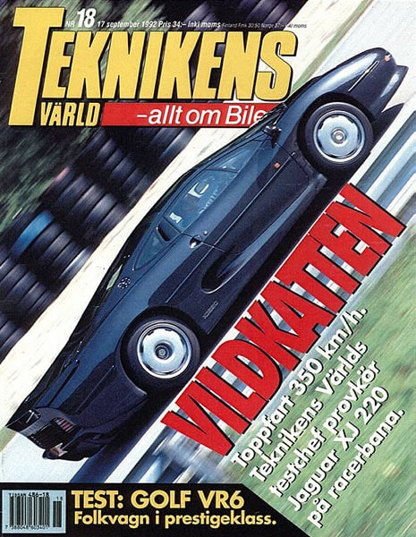 Teknikens Värld nummer 18 / 1992