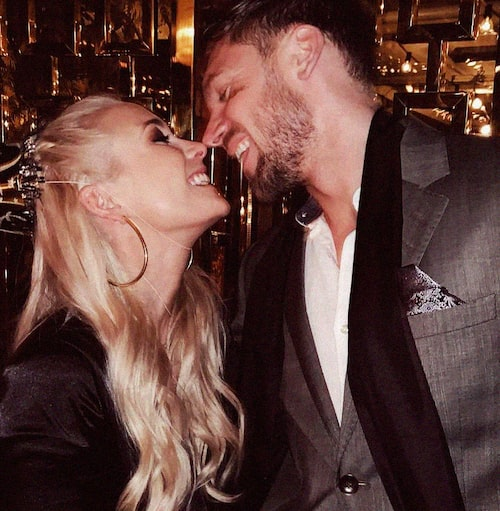 Ellen Bergström och pojkvännen Niclas Lij har varit ett par sedan 2017.