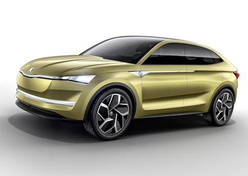Skodas första elbil kommer 2020 och kommer att se ut som Vision E. Nästan.