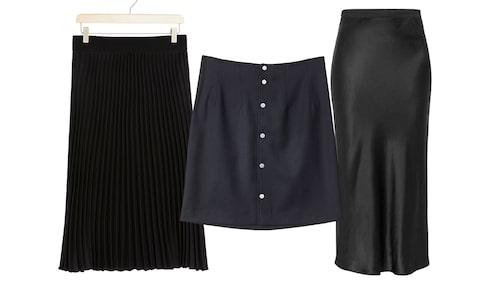 Gör din basgarderob en tjänst – investera i en svart kjol.