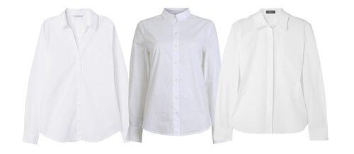 En vit skjorta tillhör basgarderobens viktigaste plagg.
