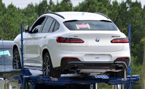 Nya BMW X4, här som M40d. Foto: CarPix