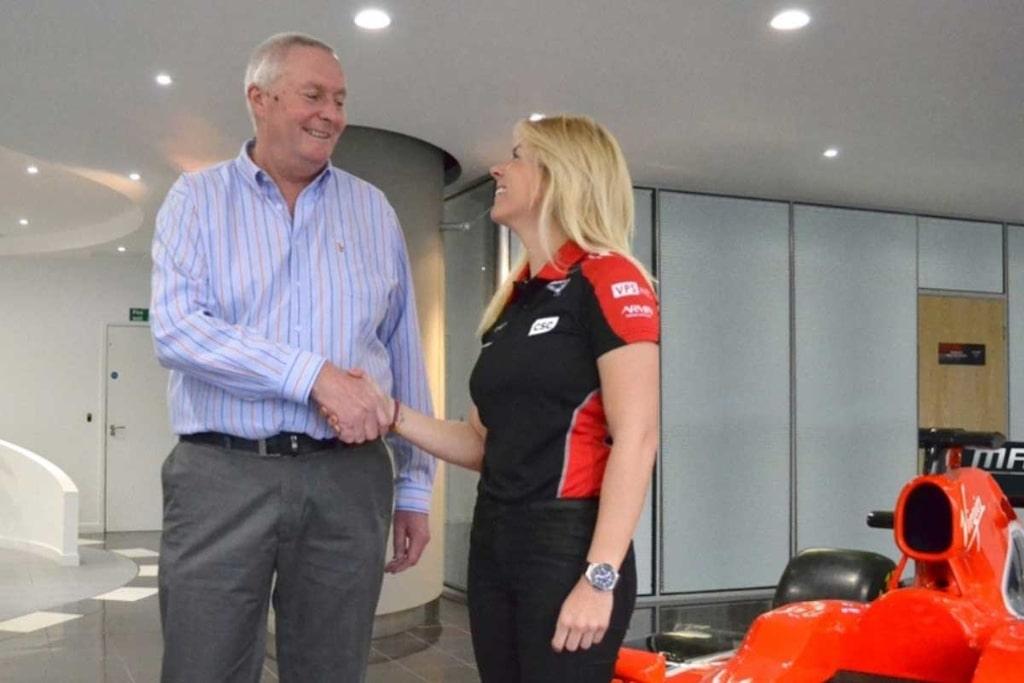 Maria de Villota Marussia F1
