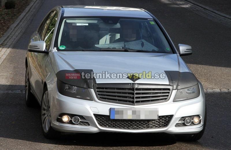 Mercedes C-klass facelift