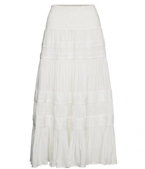 Romantisk volangkjol från By Malina. Klicka på bilden och kom direkt till kjolen.
