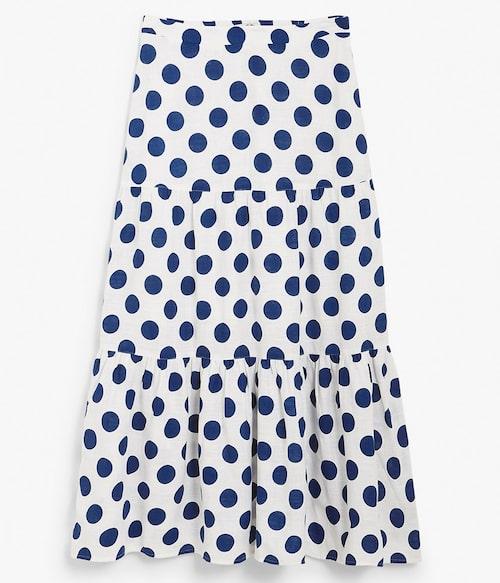 Prickig volangkjol från Kappahl. Klicka på bilden och kom direkt till kjolen.