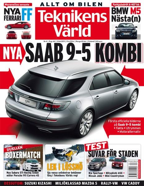 Teknikens Värld nummer 4 / 2011