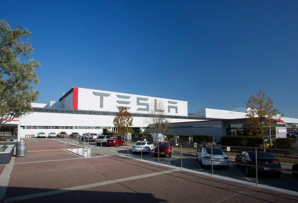 Teslas fabrik i Fremont