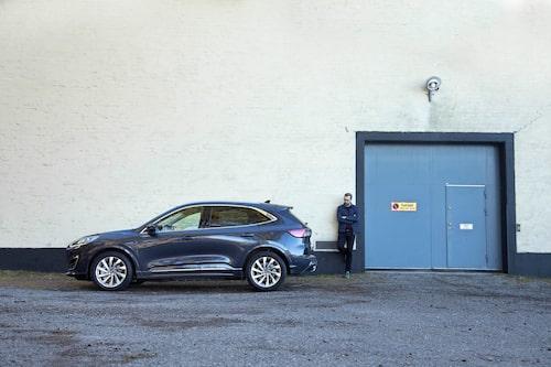 Ford Kuga i tredje generation, Erik Wedberg har endast kommit i första generation. Än så länge.