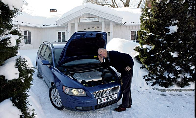 Provkörning av Volvo V50 D5