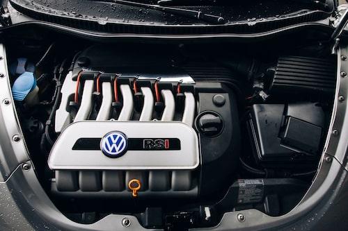 Drivlinan hämtades i det närmaste rakt av från första generationen Audi TT 3,2 FSI quattro.