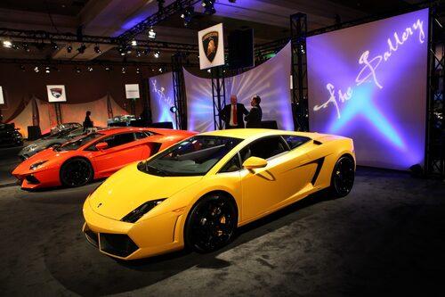 Lamborghini Aventador och Gallardo