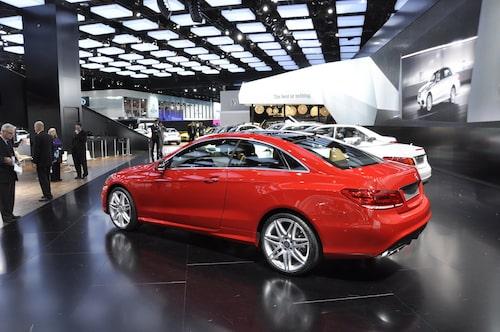 Mercedes E-klass Coupé facelift