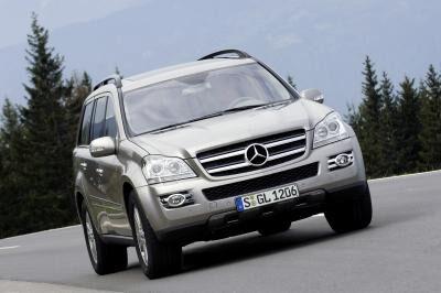 Mercedes GL som den ser ut i dag.