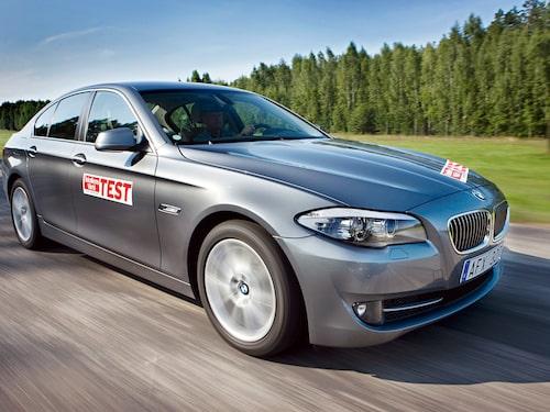 En BMW 5-serie från 2016 är ett par tusenlappar dyrare att serva än...