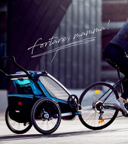 Thule Chariot Sport funkar till alla möjliga idrotter.