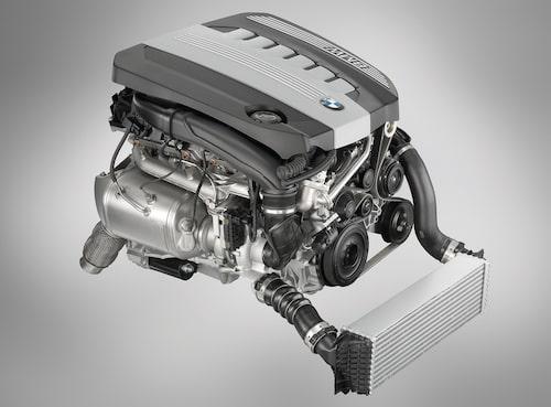 Sexcylindrig diesel