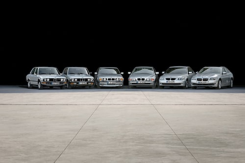 Sex generationer BMW 5-serie