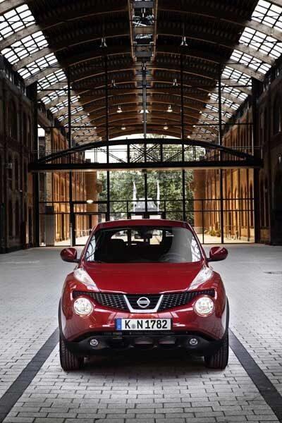 Ja, nog är det udda linjer  som Nissan Juke bjuder på. Det är väl bara att vänja sig.