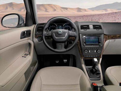 En syn som vi trodde var omöjlig bara för några år sedan. Numera är det klass på inredningen i Skoda och materialvalet är helt i nivå med andra bilar i VW-koncernen.