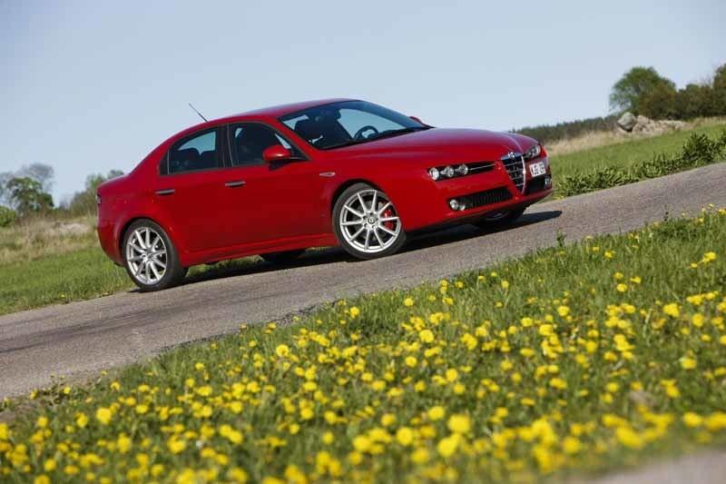 Provkörning av Alfa Romeo 159 2,4 JTD TI