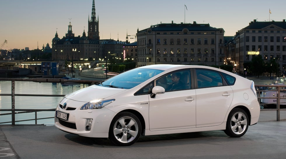 Toyota Prius i Stockholm