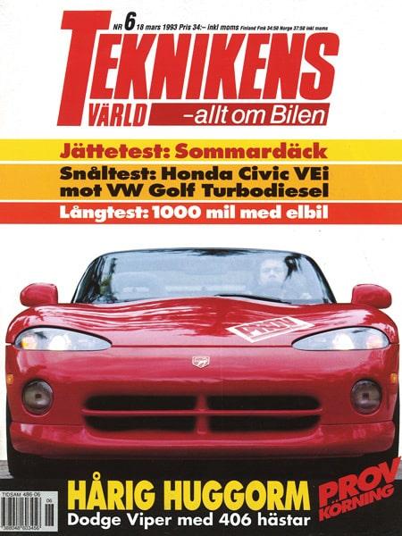 Teknikens Värld nummer 6 / 1993