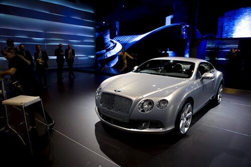 Bentley Continental GT (facelift)