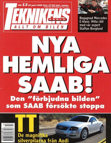 Teknikens Värld nummer 13 / 1996