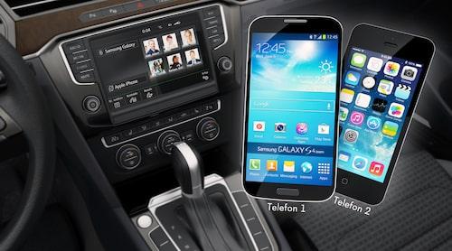 I nästa Golf ska uppkopplingsmöjligheterna vara stora, mycket tack vare kompabilitet med Android Auto och Apple CarPlay.