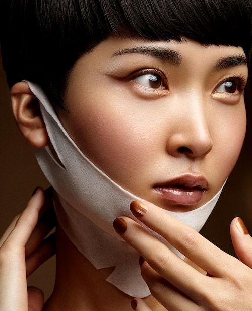 Elastisk hals- och kindmask Dr Jart+ Neck & chin lift.