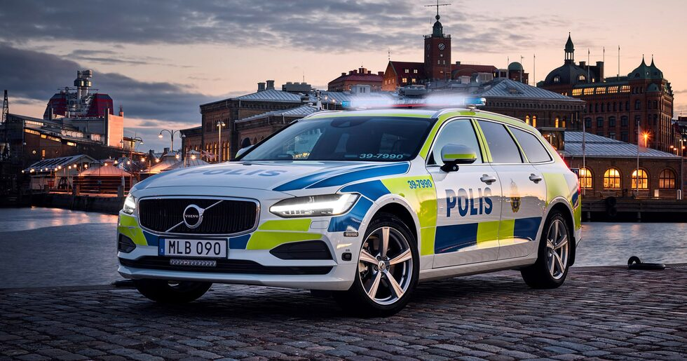 Volvo V90 Polisbil