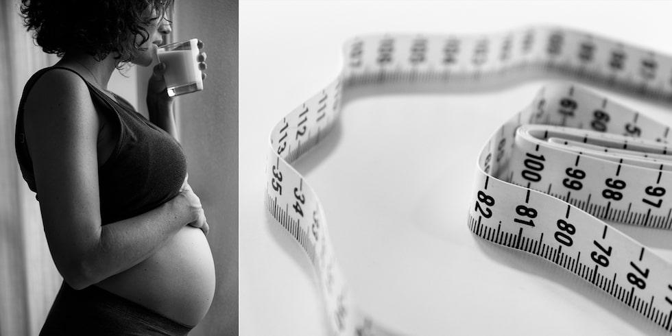 """Varför sådant ständigt prat om vikt och graviditet? Och vad är egentligen """"normalt""""?"""