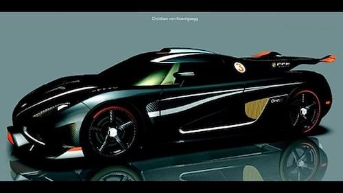 Första bilden på Koenigsegg One:1 som läckte ut för snart en månad sedan.