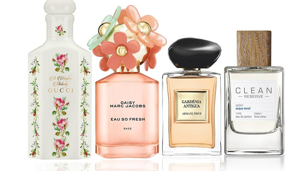 Vi listar vårens bästa parfymer för dam 2020.