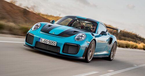 Så här ser nya Porsche 911 GT2 RS ut i nyskick.