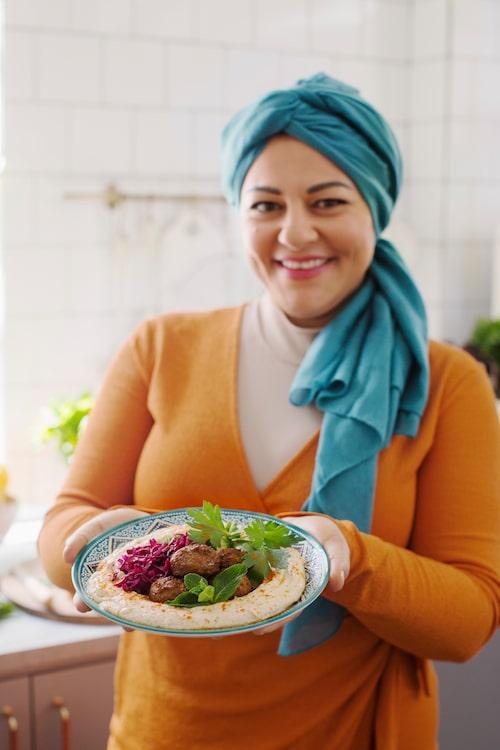 När Zeina bjuder på mat, då tackar vi inte nej!