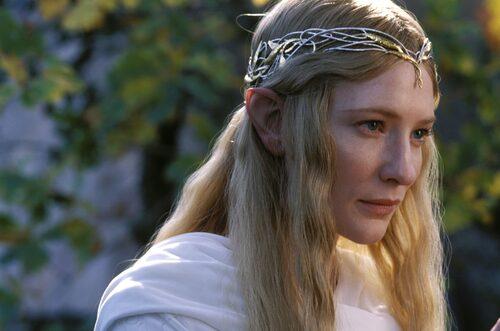 Cate Blanchett som Galadriel i Sagan om ringen-trilogin.