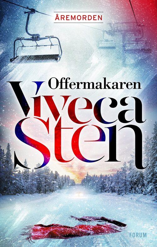 I sin nya bok har Viveca flyttat handlingen från Sandhamn till Åre.