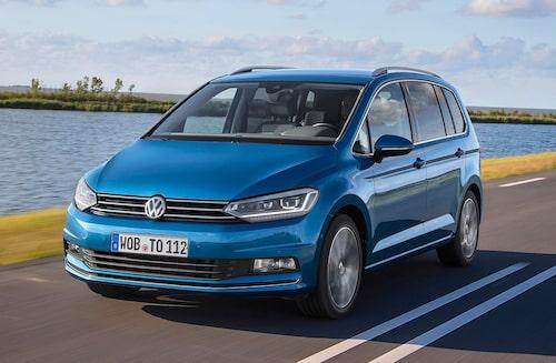 En annan av de åtta säkraste familjebilarna enligt Folksam är den hos familjer så populära Volkswagen Touran.
