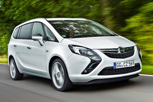Opel Zafira Tourer (gas) Klicka på pilarna för resten av listan.