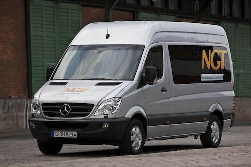 Mercedes Sprinter NGT (gas) Klicka på pilarna för resten av listan.
