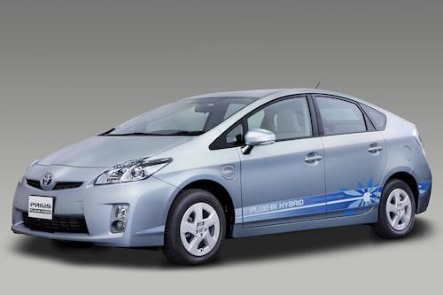 Toyota Prius (laddhybrid, bensin)  Klicka på pilarna för resten av listan.
