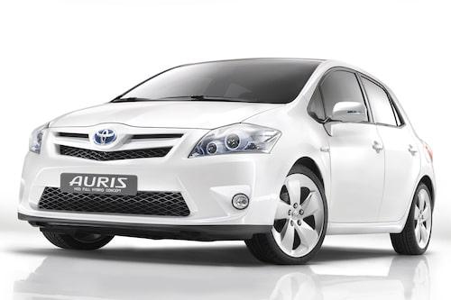 Toyota Auris Hybrid (elhybrid, bensin) Klicka på pilarna för resten av listan.