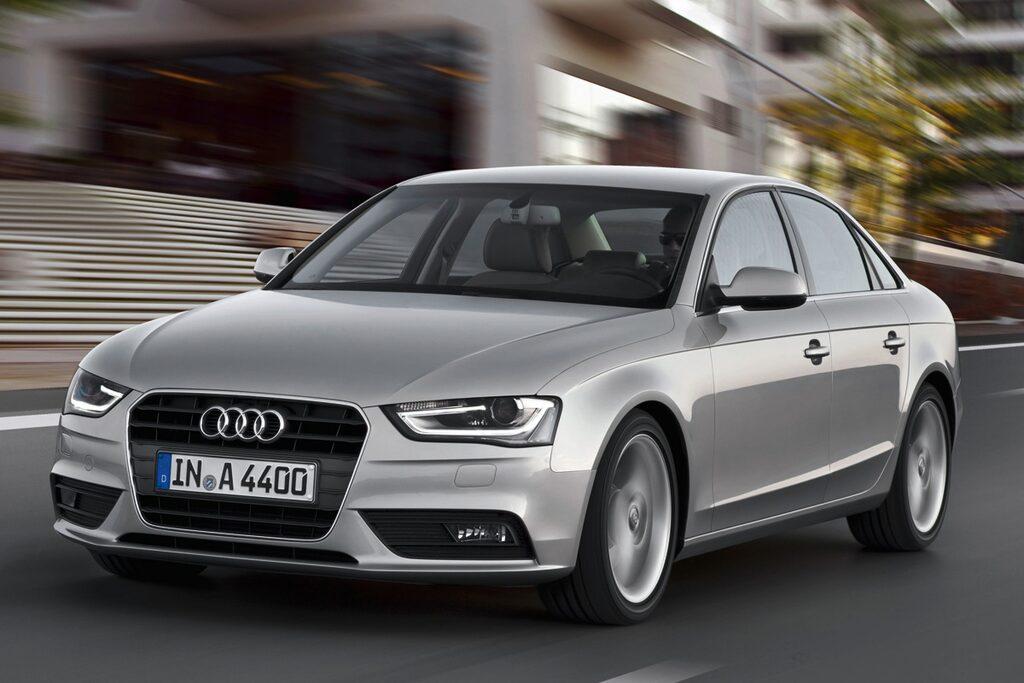 Audi A4 med etanol i tanken blir miljöbil.